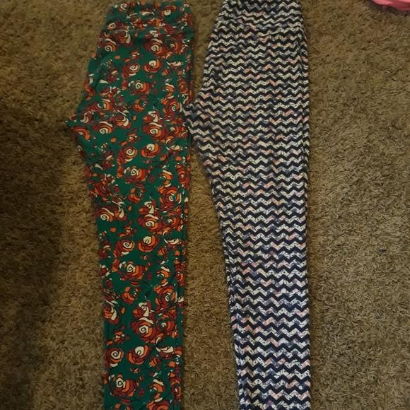 LuLaRoe Pants - TWO LULAROE T/C LEGGINGS!!!!